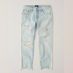 Abercrombie & Fitch Ames Slim Distressed Jeans